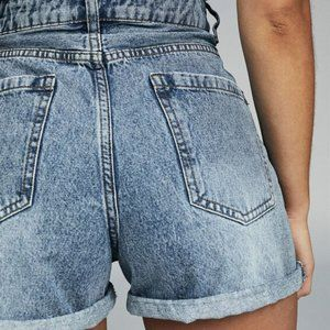 Cotton On The Flashback High Rise Distressed Short